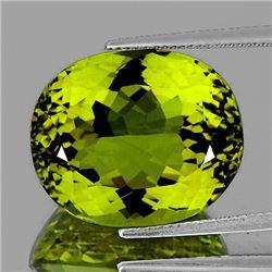 Natural Green Gold Lemon Quartz 52.70 Cts - FL