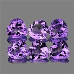 Natural Purple Heart Amethyst 12 mm - VVS