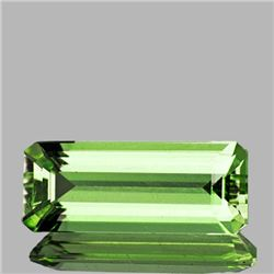 Natural Canary Green Apatite 8.90 Cts - VS