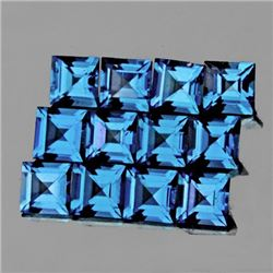 Natural Santa Maria Blue Aquamarine 3.5 mm - VVS