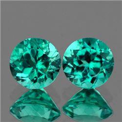 Natural  Paraiba Green Blue Apatite 7.00 mm - VVS