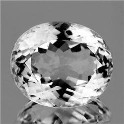 Natural Healing Colorless Quartz (Rock Crystal)27.50 Ct