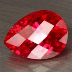 Natural Red Topaz 16.99 Carats - VVS