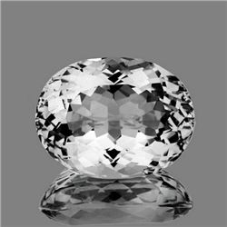 Natural Healing Colorless Quartz (Rock Crystal)20.67 Ct