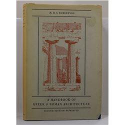 Robertson: A Handbook of Greek & Roman Architecture