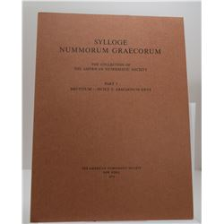 ANS: Sylloge Nummorum Graecorum - The Collection of the American Numismatic Society - Part 3 - Brutt