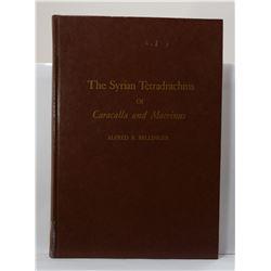 Bellinger: The Syrian Tetradrachms of Caracalla and Macrinus
