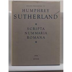 Carson: Scripta Nummaria Romana: Essays Presented to Humphrey Sutherland