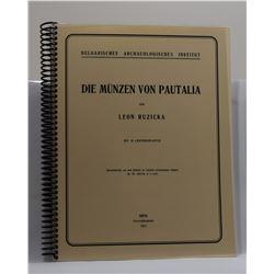 Ruzicka: Die Münzen von Pautalia