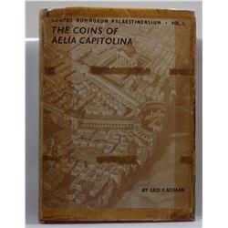 Kadman: Corpus Nummorum Palestinensium Volumes 1-4