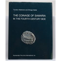 Meshorer: (Signed) The Coinage of Samaria in the Fourth Century BCE