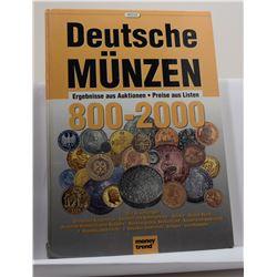 Weege: Deutsche Münzen Ergebnisse aus Auktionen 800-2000