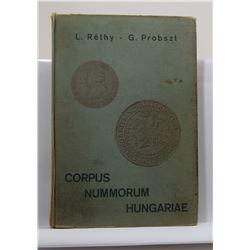 Réthy: Corpus Nummorum Hungarie