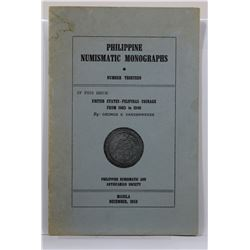 Vanderwende: (Signed) United States-Filipinas Coinage from 1903 to 1946