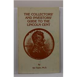 Taylor: (Signed) The Collectors' and Investors' Guide to the Lincoln Cent