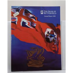 Bank of Butterfield: The Bank of Butterfield Annual Report 1991