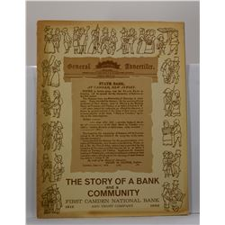 First Camden National Bank and Trust Company: The Story of a Bank and a Community: First Camden Nati