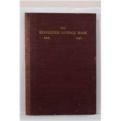 Arnot: The Rochester Savings Bank 1831-1911