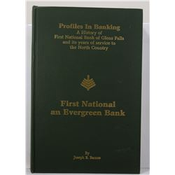 Barnes: (Signed) Profiles in Banking: A History of First National Bank of Glens Falls and its Years