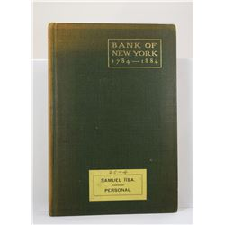Domett: A History of the Bank of New York 1784-1884