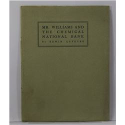Lefevre: Mr. Williams and the Chemical National Bank
