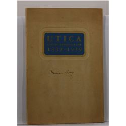 Muir and Co: Utica and its Savings Bank 1839-1939