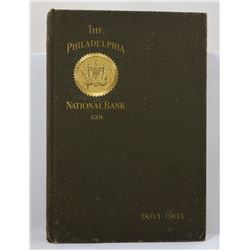 A Stockholder: The Philadelphia National Bank: A Century's Record 1803-1903