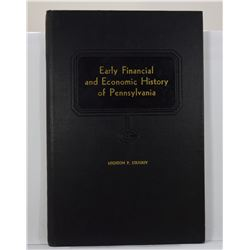 Stradley: Early Financial and Economic History of Pennsylvania