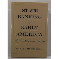 Bodenhorn: State Banking in Early America: A New Economic History