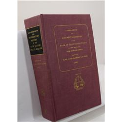 Clarke: Legislative and Documentary History of the Bank of the United States Including the Original
