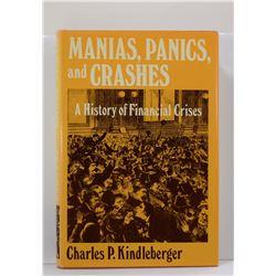 Kindleberger: Manias, Panics, and Crashes: A History of Financial Crisis