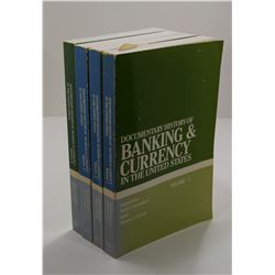 Krooss: Documentary History of Banking & Currency in the United States Volume I - IV