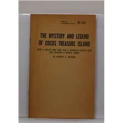 Wilkins: The Mystery and Legend of Cocos Treasure Island: How a Pirate who Fell for a Senora's Lovel