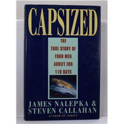 Nalepka: Capsized: The True Story of Four Men Adrift for 119 Days