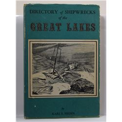 Heden: Directory of Shipwrecks of the Great Lakes