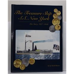 Bowers: The Treasure Ship S.S. New York: Her Story 1837-1846