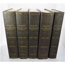 French: History of Westchester County New York Volume I - V
