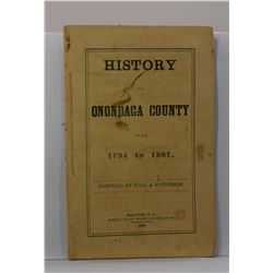 Hall & Patterson: History of Onondaga County from 1794 to 1867
