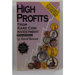 Bowers: High Profits from Rare Coin Investment