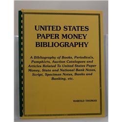 Thomas: United States Paper Money Bibliography