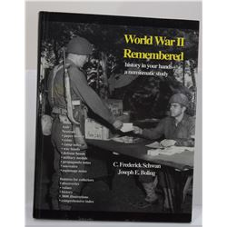Schwan: World War II Remembered: History in Your Hands - A Numismatic Study