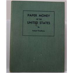 Friedberg: Paper Money of the United States: Lot of 4 books