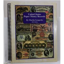 Gengerke: United States Paper Money Records