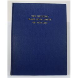 Huntoon: The National Bank Note Issues of 1929-1935
