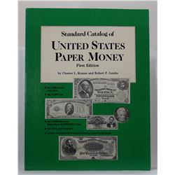 Krause: Standard Catalog of United States Paper Money Lot of 3 books