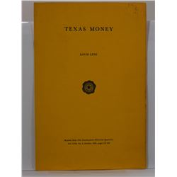 Lenz: Texas Money