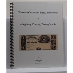 Liddel: Obsolete Currency, Scrip, and Notes of Allegheny County, Pennsylvania