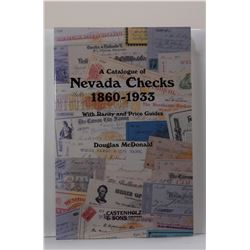 McDonald: A Catalogue of Nevada Checks 1860-1933: With Rarity and Price Guides