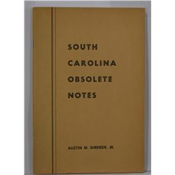 Sheenan Jr.: South Carolina Obsolete Notes