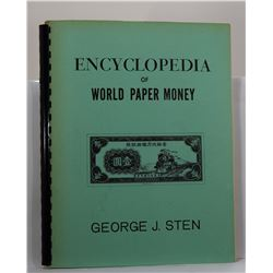 Sten: Encyclopedia of World Paper Money: An Illustrated Guide-Index Compiled as an Aid in the Identi